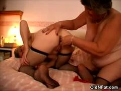 Chubby Older Babes Having Lesbian Sex