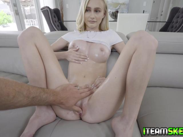 Lucky guy Jmac puts Alicia Williams to the test right away