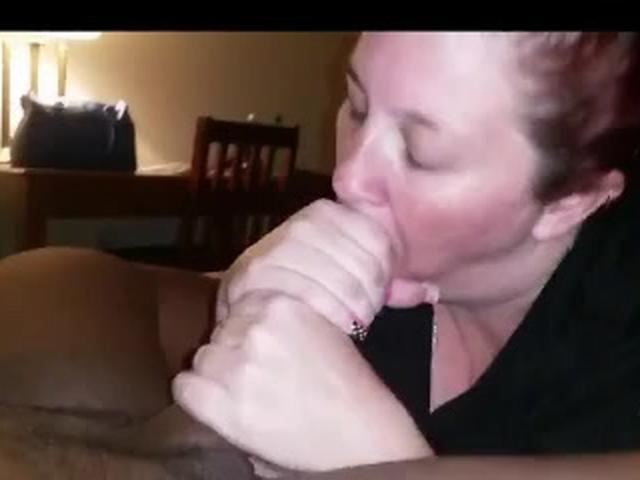 BBW mom loves big black dick and cum