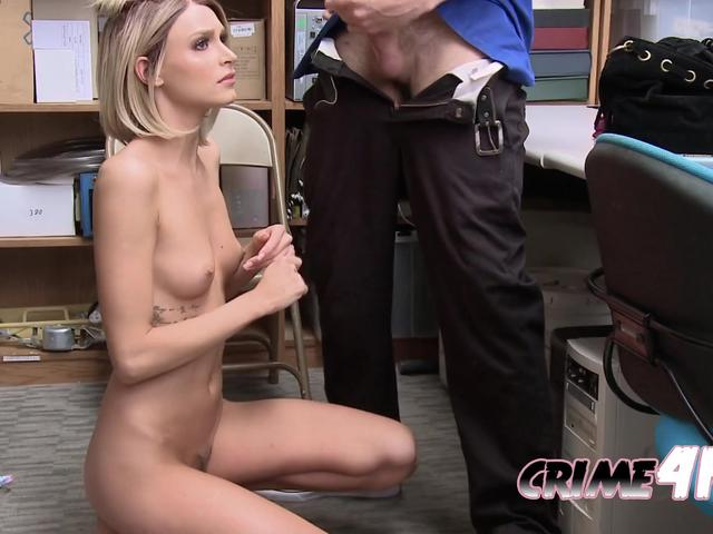 UNIFORMED pervert coercing NAUGHTY petite to get smashed