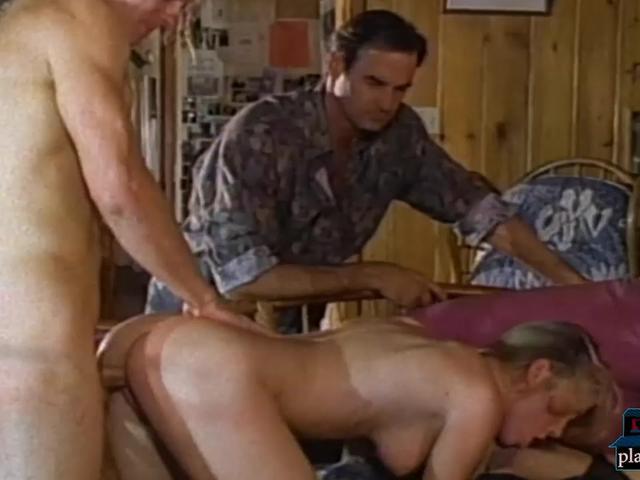 Vintage orgy with horny retro sluts at a fuck party