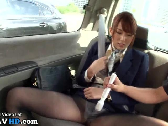 Japanese sexy hostess fucked in car - More at Elitejavhd.com