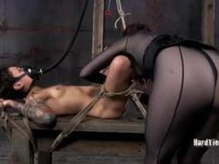 BDSM Lesbians Torture Fuck Holes