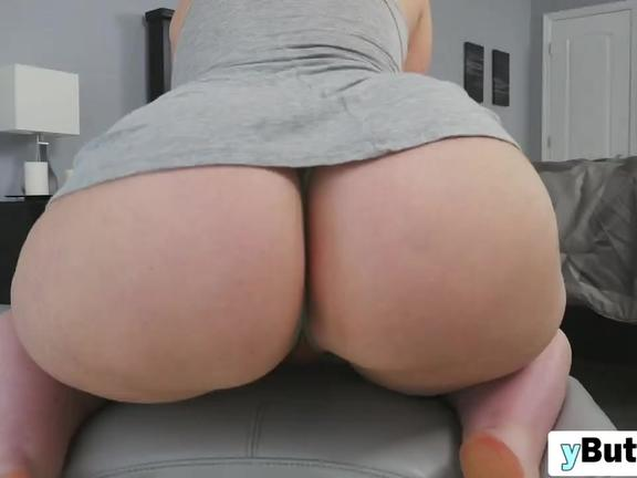 Magnificent chubby brunette slut riding big black cock and she like it