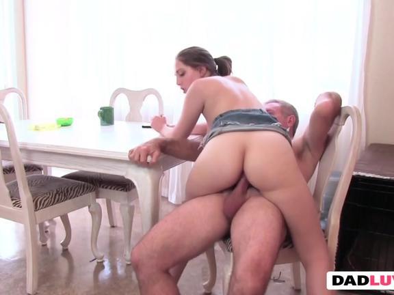 Daughter slut shamed them dicked around