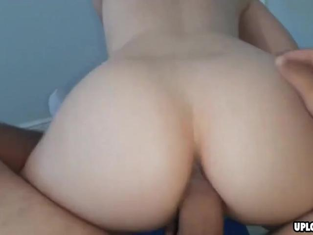 Naughty girlfriend fucked in her asshole
