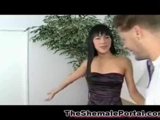 Teen Ladyboy Masseuse!