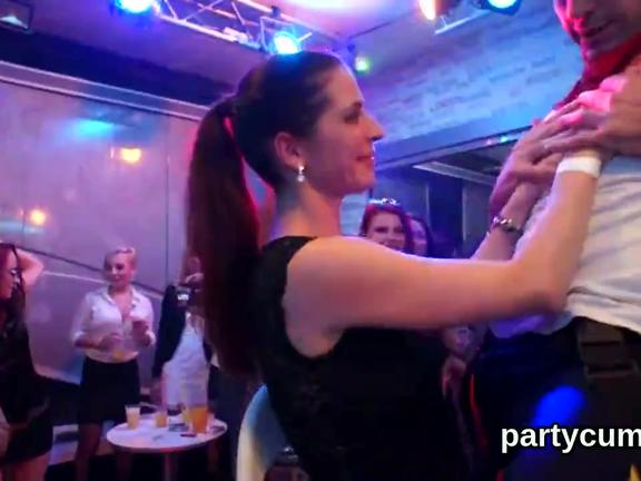 Sexy cuties get fully foolish and undressed at hardcore party