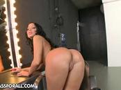 Enjoy as one hot chick reveals her shapely butt. She ...