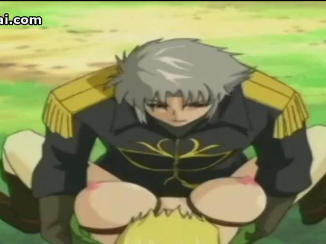 Hentai busty fantasy girl has rough bondage sex at Topheyhentai.com