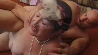 Hot granny porn with Ellen Zark
