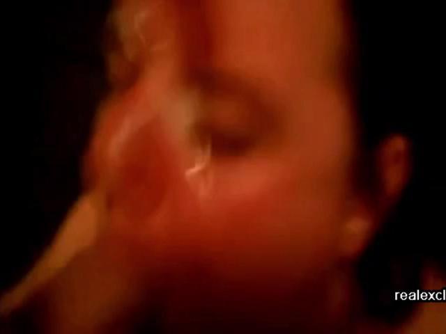 Cum face of BBW milf Ria