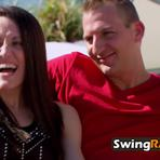 Married couple is too excited for the swingers party to get started