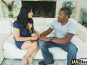 Mia Lee gets her pussy defenestrated by Big black cock
