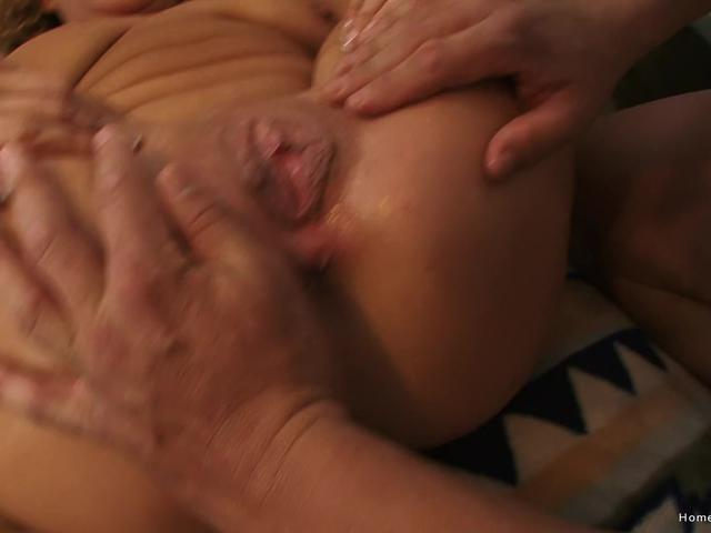 Insatiable big tit blonde MILF loves being pounded hard