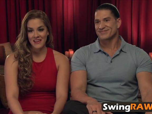 Striptease session with horny swinger couples in reality show