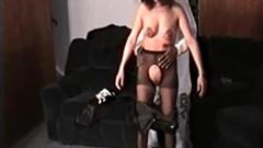 Spy as a horny babe swallows that meaty cock and ...