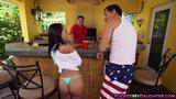 Tight ass Holly Hendrix destroyed by a huge cock