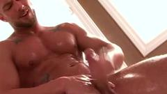 Enjoy as the muscular queer touch his dick.Later jacks of ...
