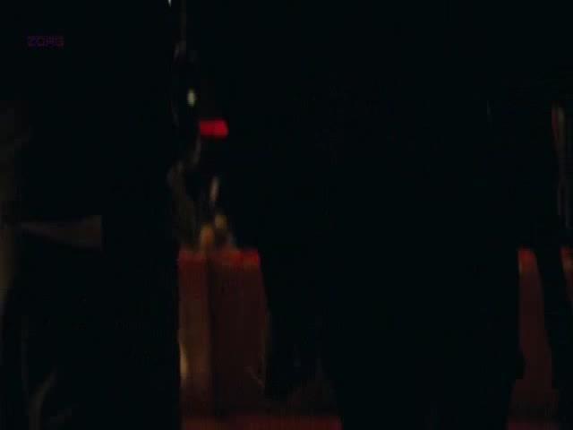 Pretty Salma Hayek Stip=Teases Against Pole