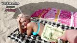 Pretty babe Kimber Lee gets fucked by a stranger for his cash