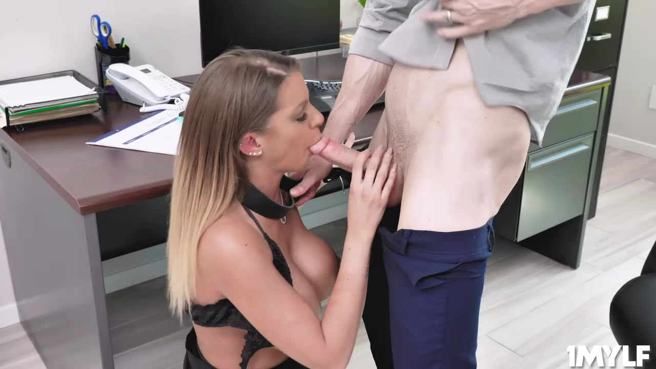 Brooklyn can just keep her job, but her pussy just got her a raise!
