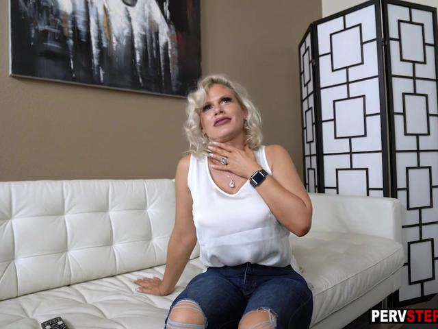 Horny stepmom with big boobs gets fucked by a stepson