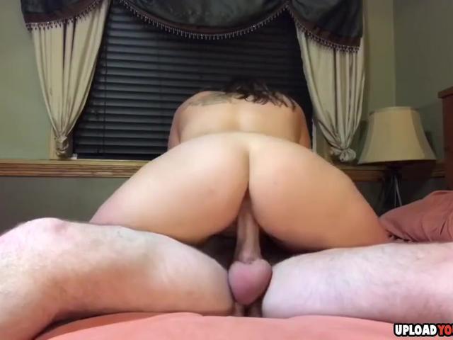 Naughty Milf Sucks And Rides My Dick