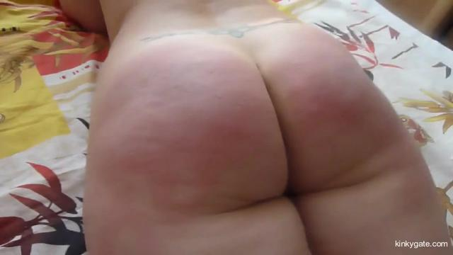 Big Russian Butt firm paddled