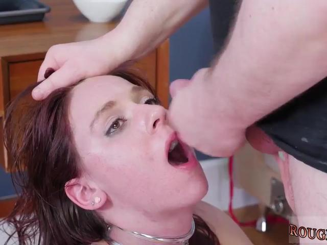 Hardcore anal brutal slave and man bondage first time Previously, we