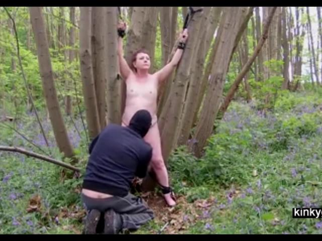 Outdoor BDSM with Slave Katinka 53