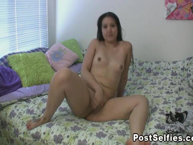 Cute Asian Chick Masturbating