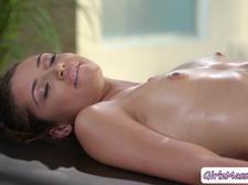 Sexy Masseuse Valentina Nappi pounds client Avi Loves wet pussy