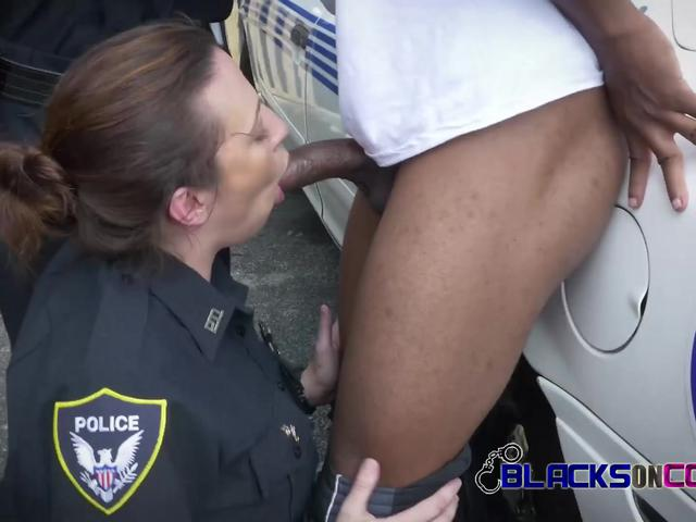 REBEL busty TATTOOED cops have interracial HARDCORE SEX