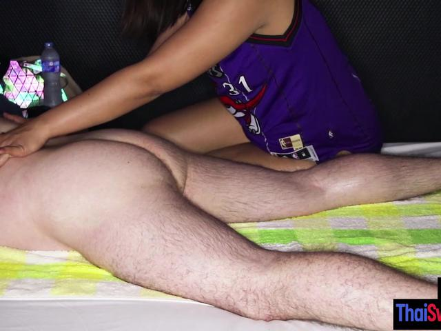 Wet big ass Asian Beer massage and sucked big dick before she jumped on it