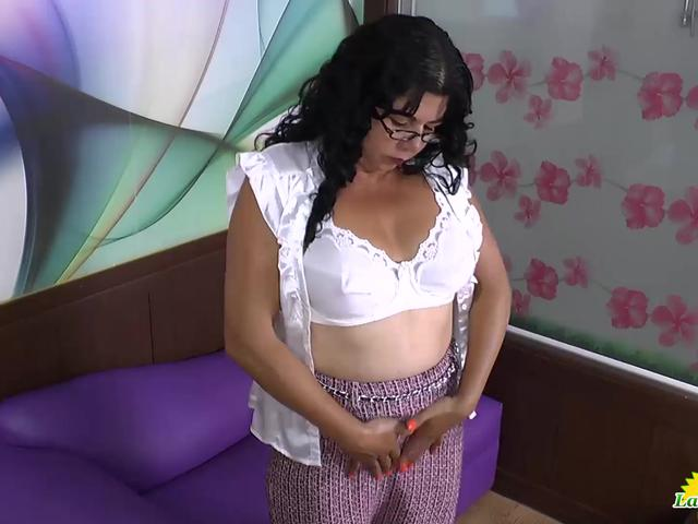 LatinChili Busty Mature Lady Solo Compilation