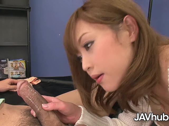 JAVHUB Petite Miina Yoshihara begging to be fucked