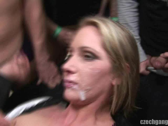 Gangbang time for married MILF