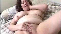 This plump cutie in this clip is totally turned on ...