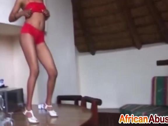 African hookers enjoy sucking big throbbing dicks