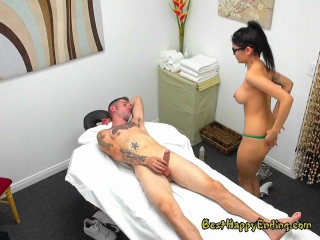 Sexy Masseuse Brenna Sparks Massages And Blows Client