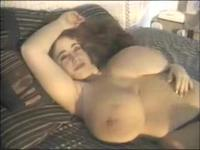 BBW Babel Exposes Enormous Tits And Wide Pussy