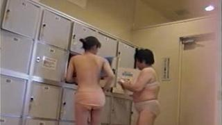 Mixed Of Asian Chicks Caught On Voyeur Cam In Locker Room