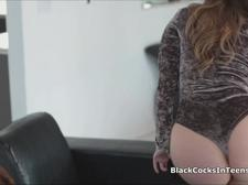 Ass fucked by a big black cock