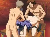 These perverted guys from the raunchy hentai movie are entertaining ...