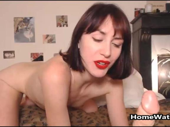 Petite Short Hair Brunette Wants To Be Your Litle Sex Toy