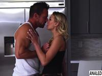 Pretty blonde milf Kenzie Taylor asshole gets plowed