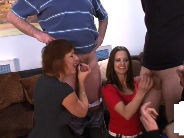 Kinky british dommes compare tiny cocks in erotic group