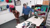 Tight black teen thief busted for stealing from a store