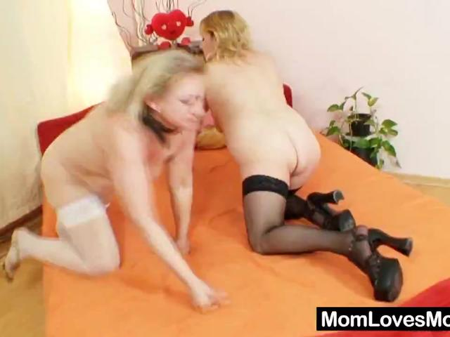 Filthy Moms Ride Double-Sided Dildo